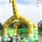 """Structure gonflable """"girafe"""""""