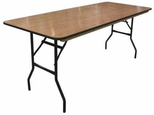 FESTIVITRE LOC TABLE DROITE BOIS 612