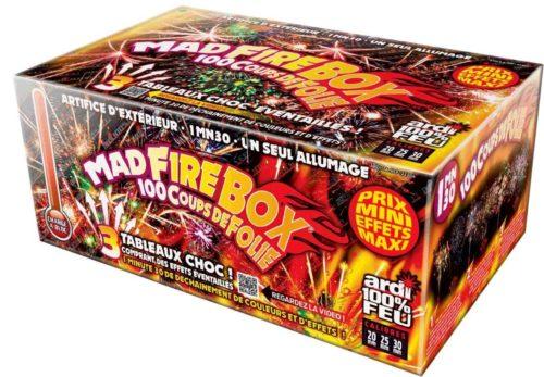 Festivitré Portable Mad Fire Box 1min30 Feu D Artifice Automatique