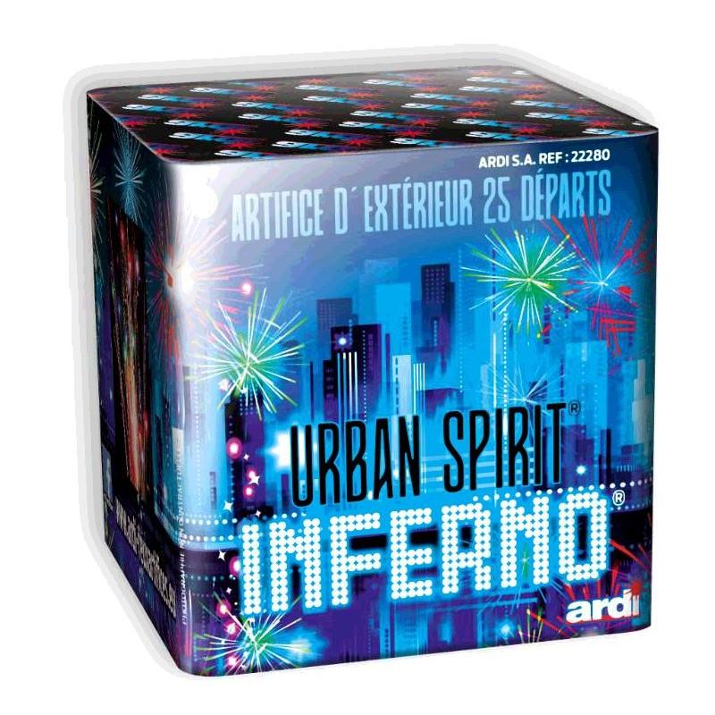 Festivitré Urban Spirit Inferno 25 Depart