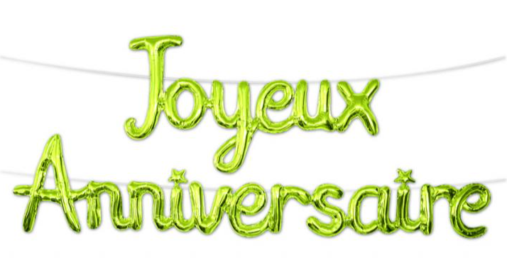 Festivitré Guirlande Ballon Vert