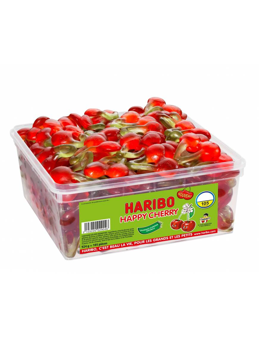 Festivitré Haribo Happy Cherry 105 Pieces