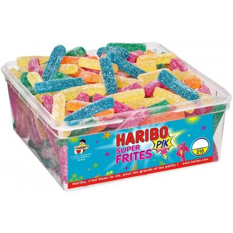 Festivitré Haribo Super Frites Pik Boite 210 Pieces