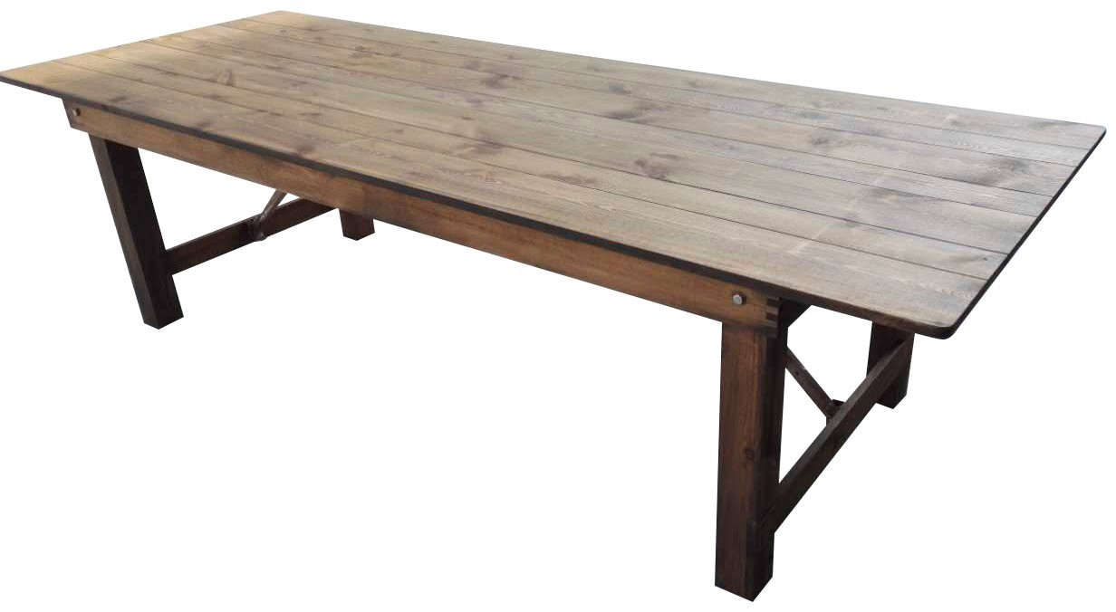 Festivitré Table Bois Rustique