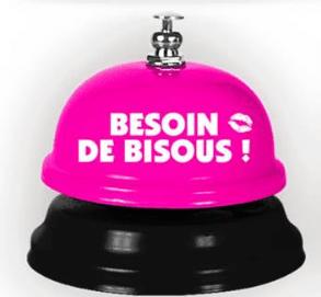 Festivitré Sonnette Besoin De Bisous