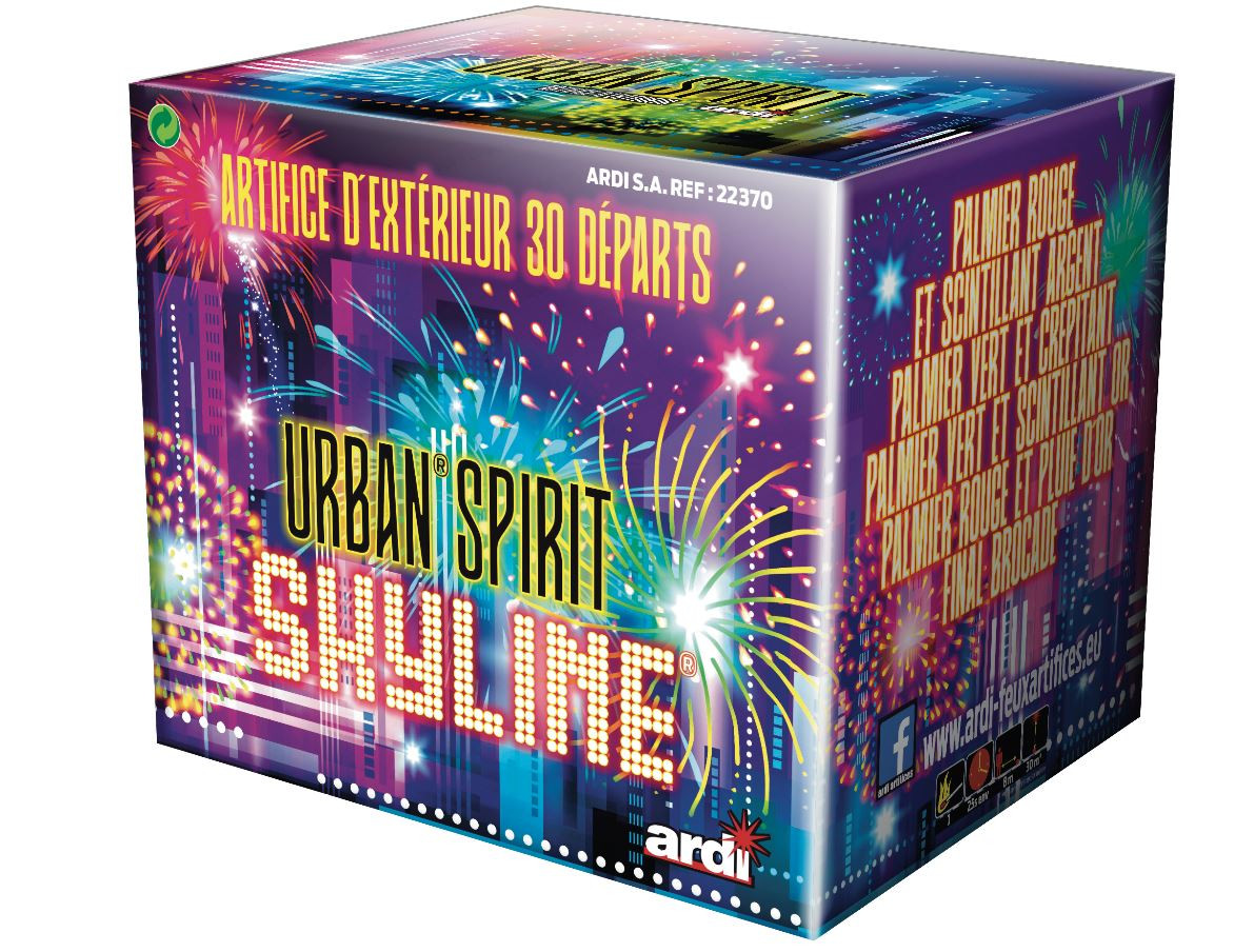 Festivitré Game Urban Spirit Skyline