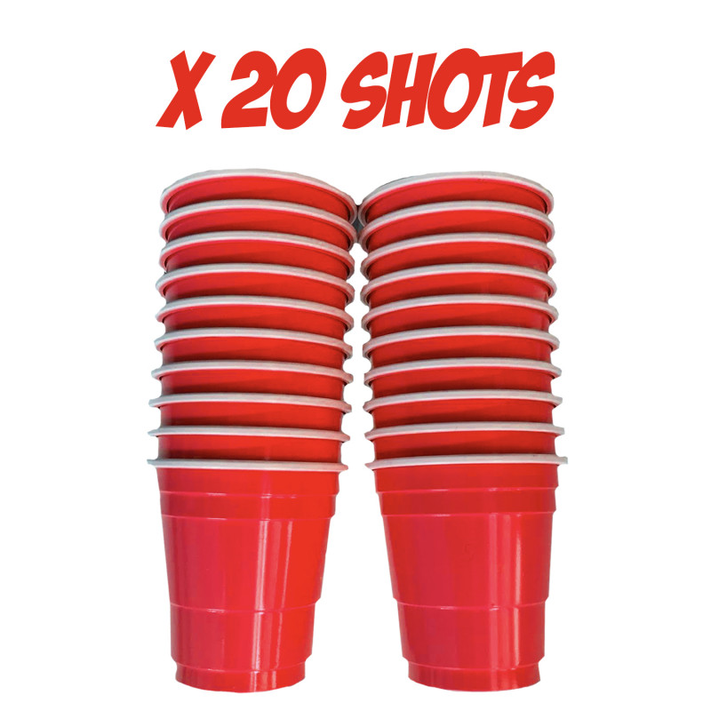 Festivitré 20 Shooters Rouges 4cl 1