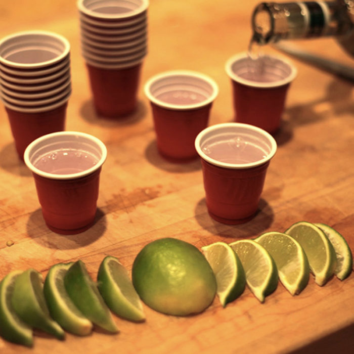 Festivitré 20 Shooters Rouges 4cl 4