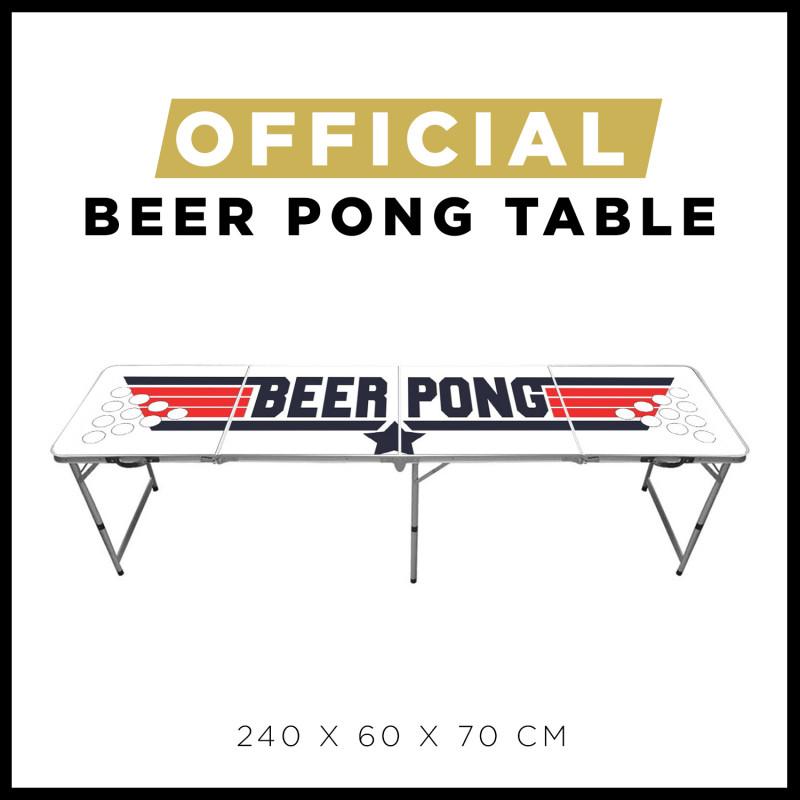 Festivitré Table De Beer Pong Officielle Top Gun 1