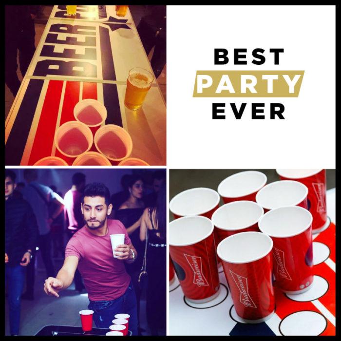 Festivitré Table De Beer Pong Officielle Top Gun 5