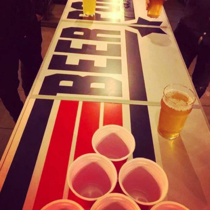 Festivitré Table De Beer Pong Officielle Top Gun 7