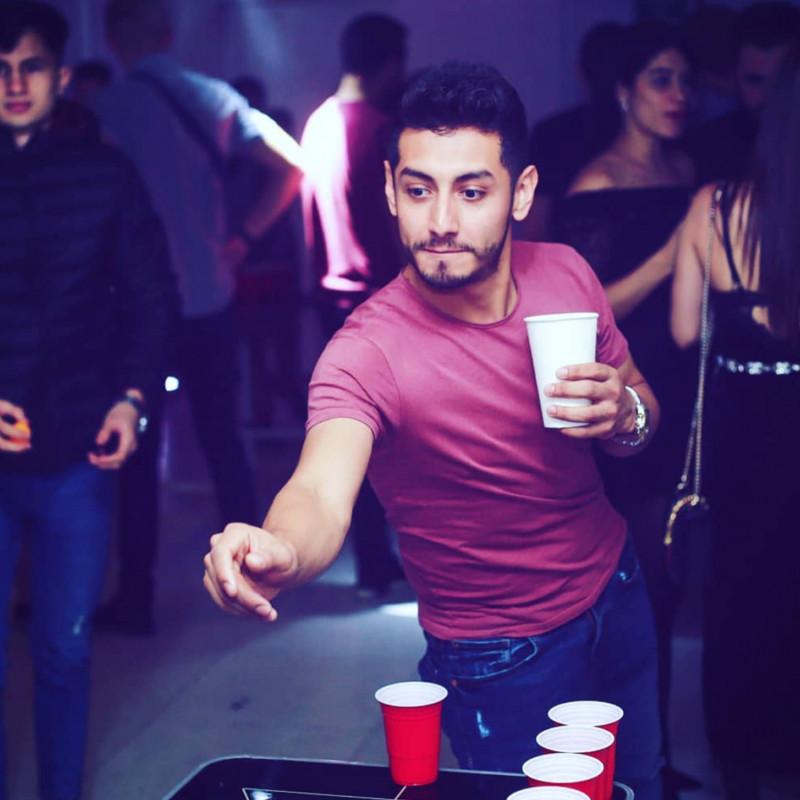 Festivitré Table De Beer Pong Officielle Top Gun 8