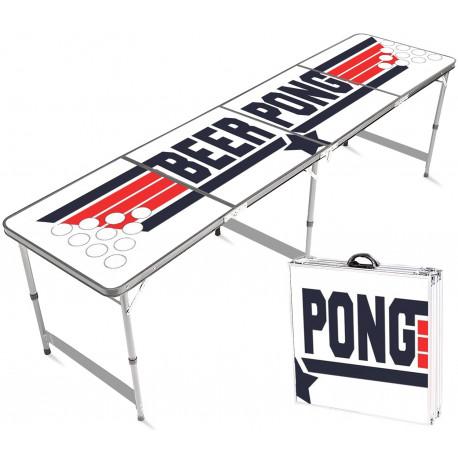 Festivitré Table De Beer Pong Officielle Top Gun