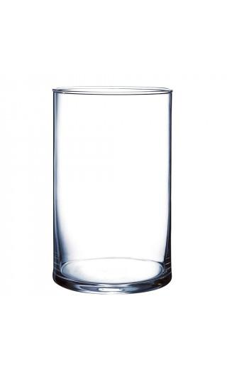Festivitré Vase Cylindrique Verre Transparent H 20x Diam12cm 1769