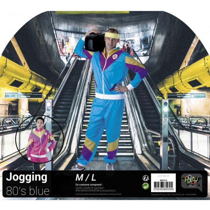 Festivitré Costume Jogging 80 S Blue 1