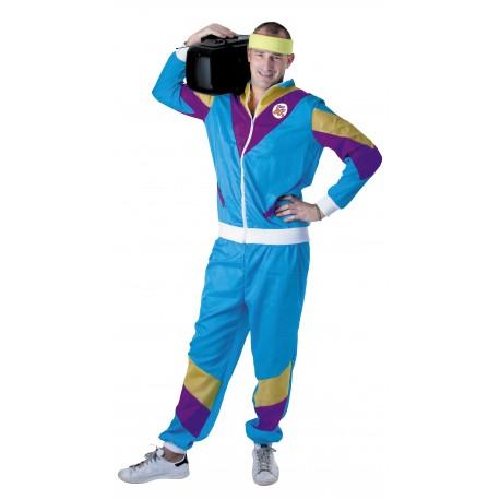 Festivitré Costume Jogging 80 S Blue