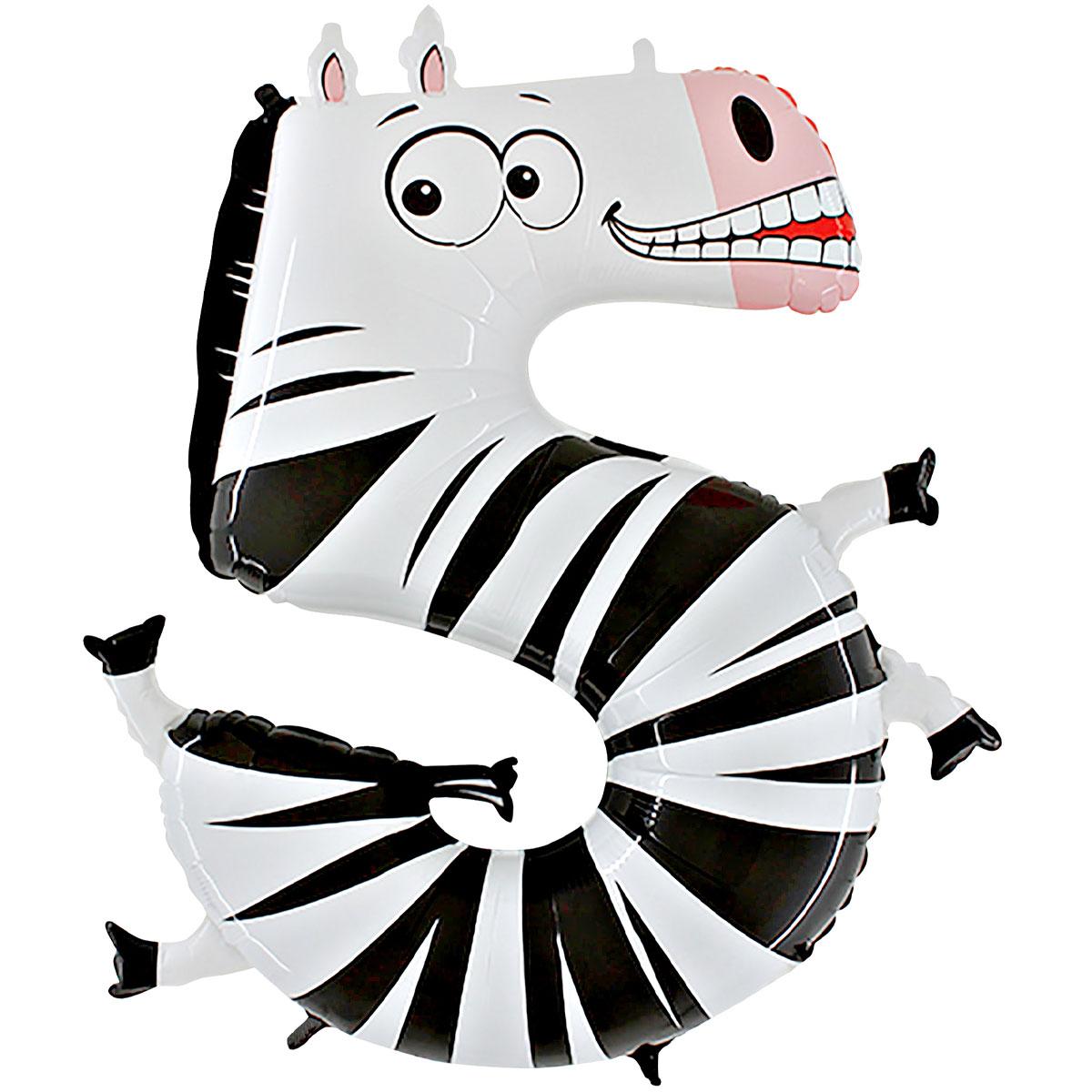 Festivitré Https Fournisseur Ballon Decoration.com Wp Content Uploads 2018 09 Animaloons 5 Zebra