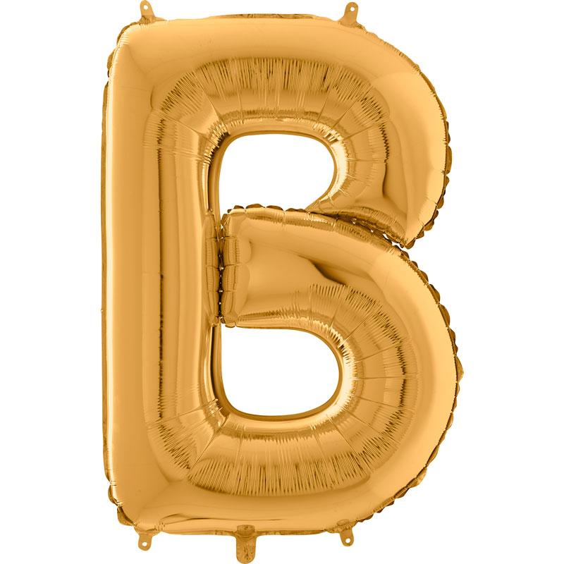 Festivitré Https Fournisseur Ballon Decoration.com Wp Content Uploads 2018 11 Lettre B Or 26 Pouces