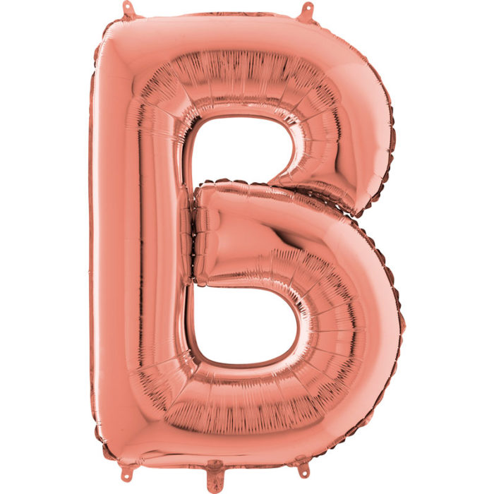 Festivitré Https Fournisseur Ballon Decoration.com Wp Content Uploads 2018 11 Lettre B Rose Gold 26 Pouces