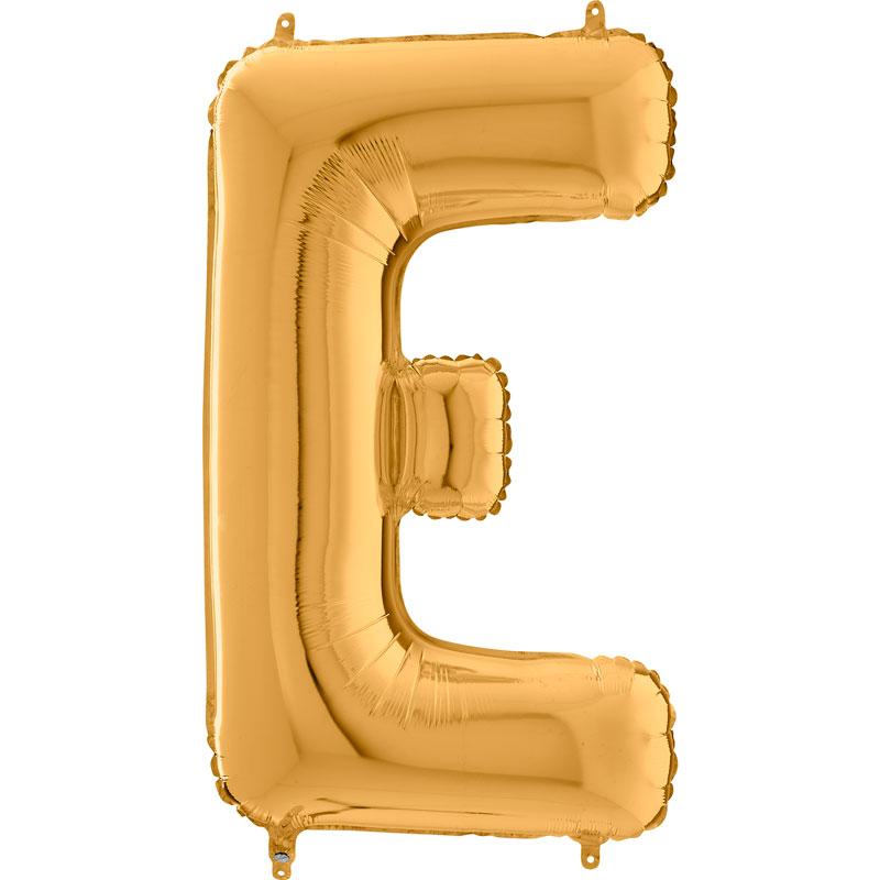 Festivitré Https Fournisseur Ballon Decoration.com Wp Content Uploads 2018 11 Lettre E Or 26 Pouces