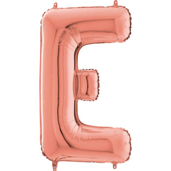 Festivitré Https Fournisseur Ballon Decoration.com Wp Content Uploads 2018 11 Lettre E Rose Gold 26 Pouces