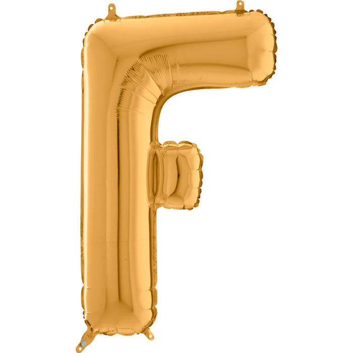 Festivitré Https Fournisseur Ballon Decoration.com Wp Content Uploads 2018 11 Lettre F Or 26 Pouces