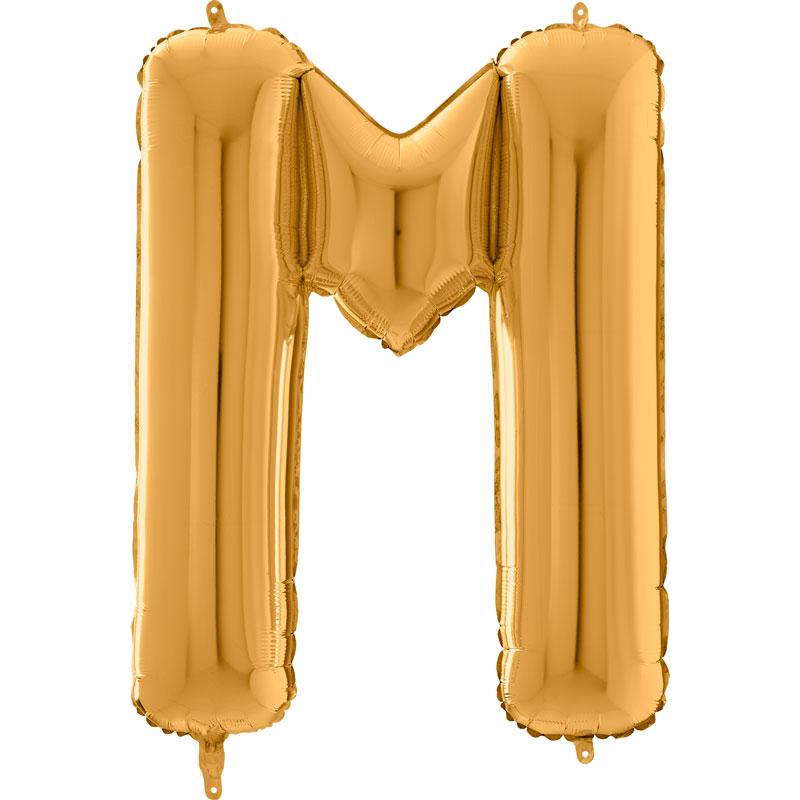 Festivitré Https Fournisseur Ballon Decoration.com Wp Content Uploads 2018 11 Lettre M Or 26 Pouces