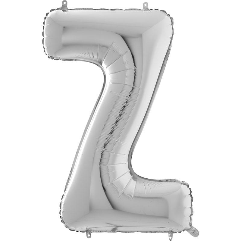 Festivitré Https Fournisseur Ballon Decoration.com Wp Content Uploads 2018 11 Lettre Z Argent 26 Pouces
