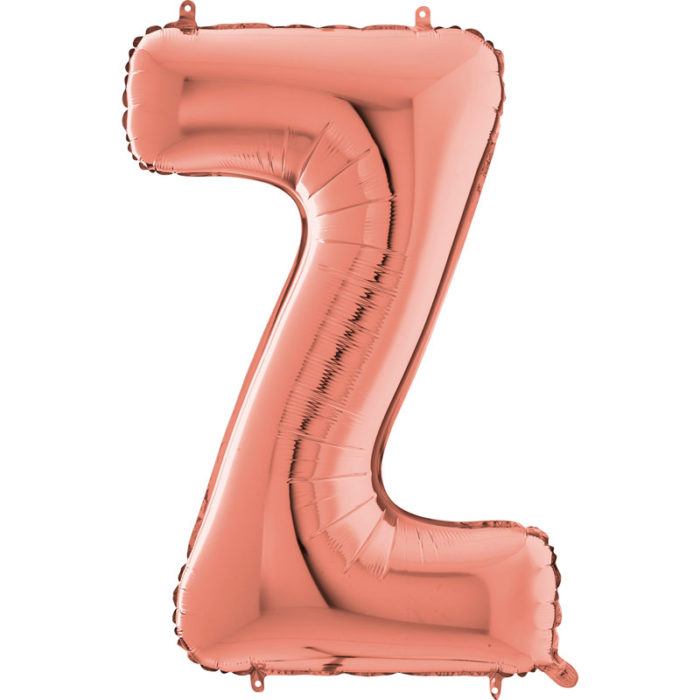 Festivitré Https Fournisseur Ballon Decoration.com Wp Content Uploads 2018 11 Lettre Z Rose Gold 26 Pouces