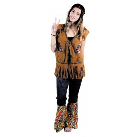 Festivitré Gilet Hippie Mixte 1