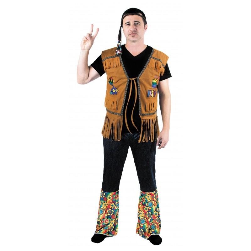 Festivitré Gilet Hippie Mixte 2